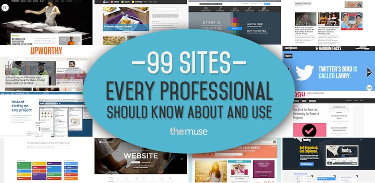Career Guidance - 99 Sites That Every Professional Should Know About and Use