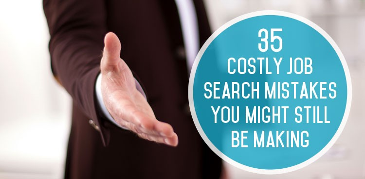 Common Job Search Mistakes - The Muse