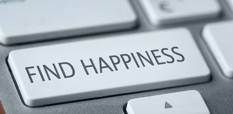 Happiness computer key