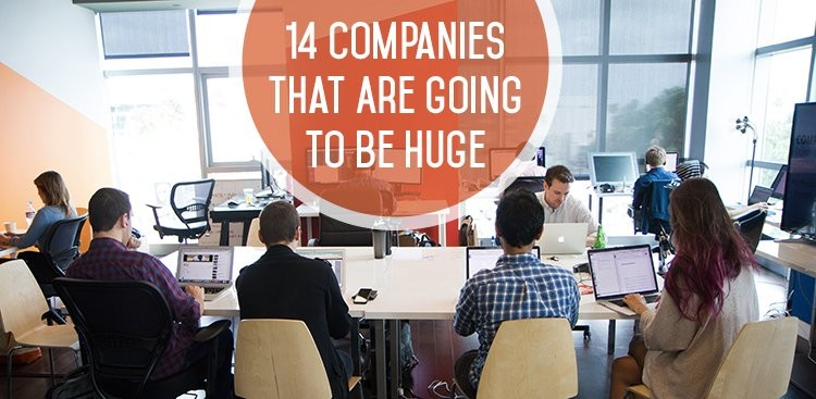 14 Companies That Are Going to Be Huge - Startup Jobs - The Muse