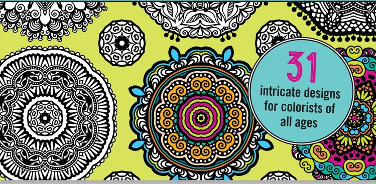 The 21 Best Adult Coloring Books | The Muse