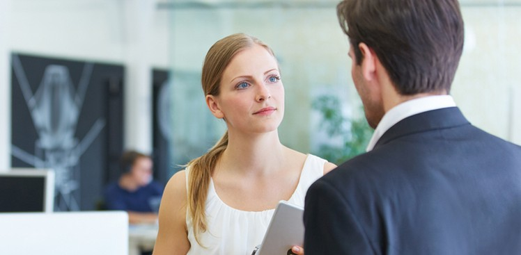 Image result for Your boss barely talks to you