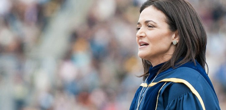 Sandberg's Moving Commencement Address