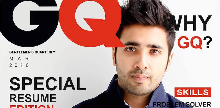 GQ-style CV Gets Sumukh Mehta a Job Offer