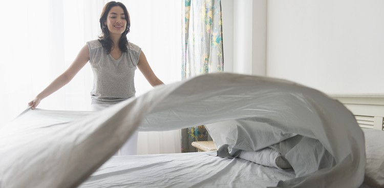 Making Your Bed Means a More Productive Morning  -The Muse