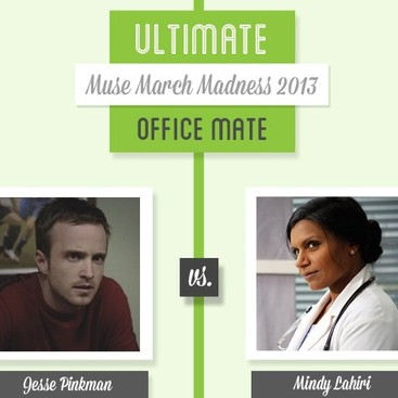 Career Guidance - Muse March Madness 2013: Jesse Pinkman vs. Mindy Lahiri