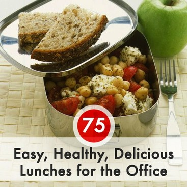 career guidance 75 easy healthy delicious lunches for the office