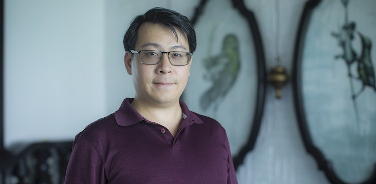 photo of Robert Chen, an engineer at Expensify