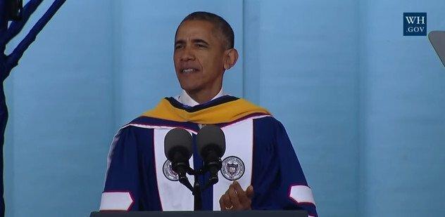 President Barack Obama's commencement speech