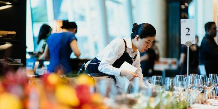 photo of woman catering