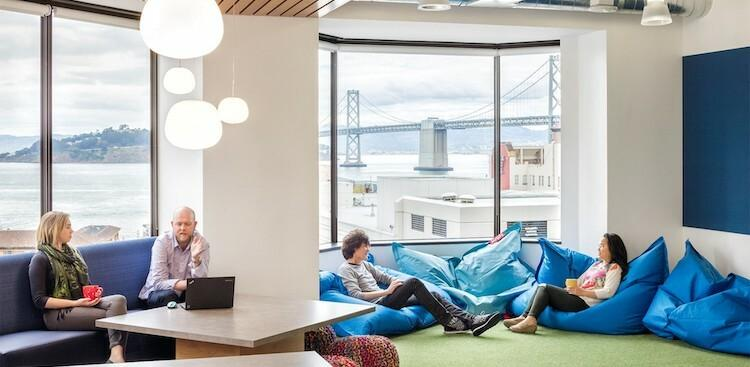 employees in Booking.com's San Francisco office
