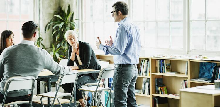 people in meeting