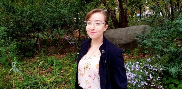 Erika Russi, a graduate of Flatiron School and data scientist at IBM