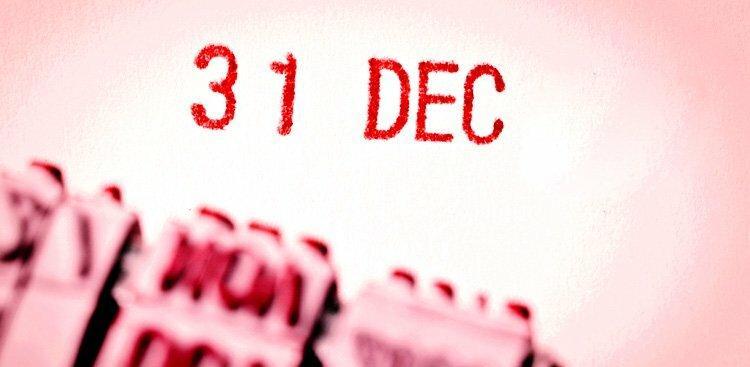 December 31 text