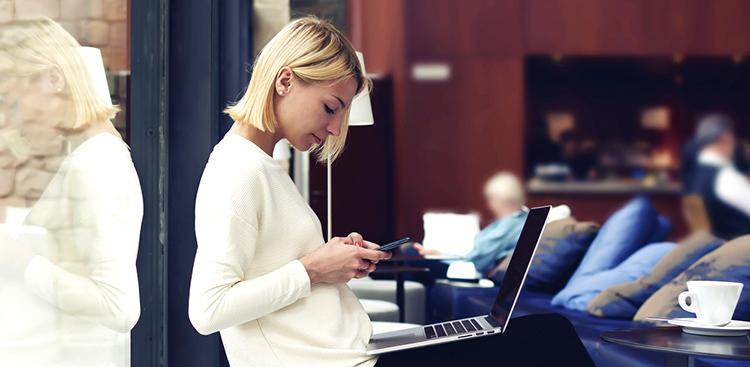 person online