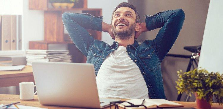 happy worker