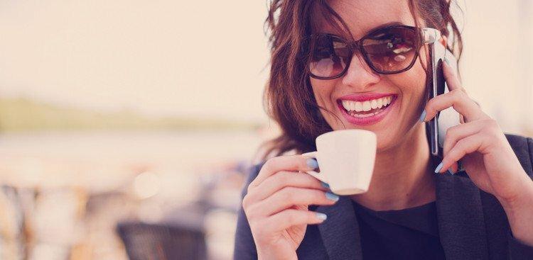 confident, happy woman