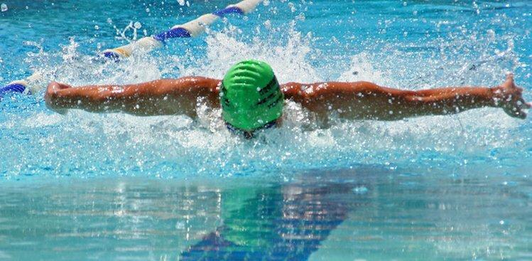 swimmer training