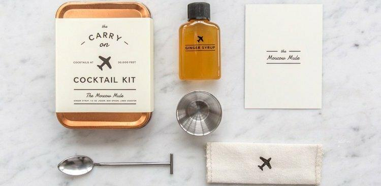 The Carry on Cocktail Kit: The Moscow Mule
