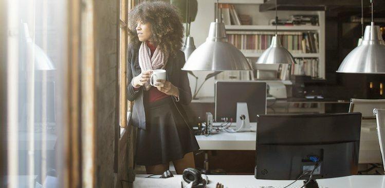 woman looking thoughtful courtesy xavierarnau/Getty Images.
