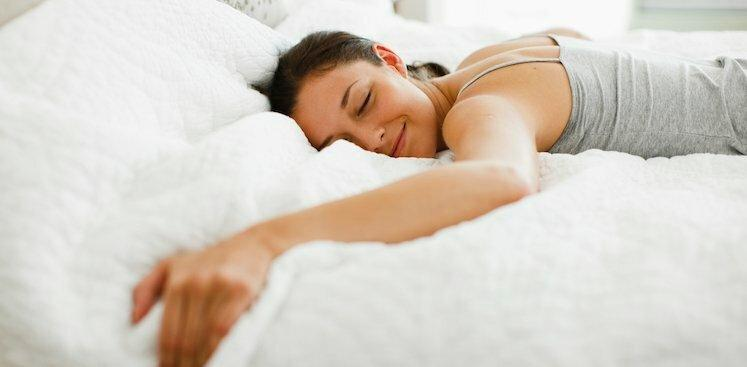 person sleeping
