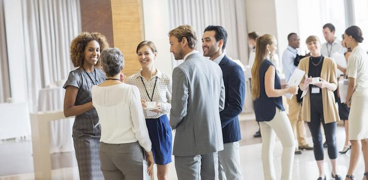 photo of people networking