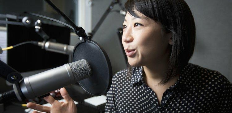 podcast host