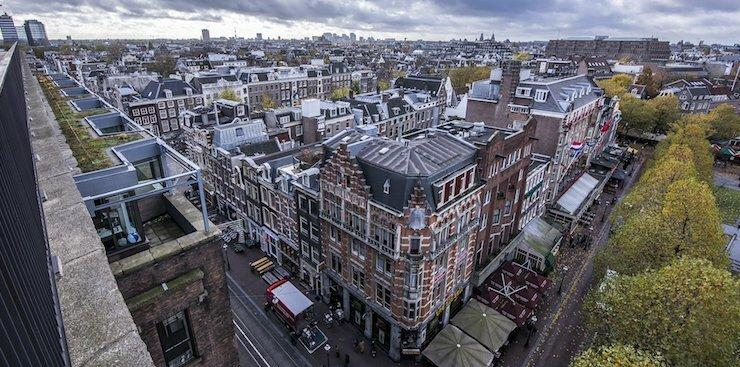 Amsterdam, where Booking.com has an office