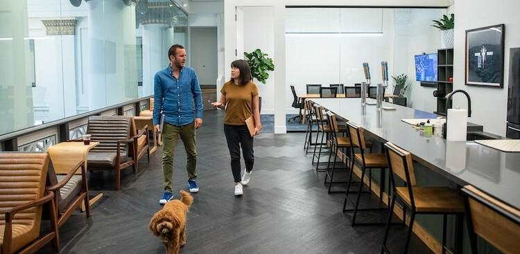 employees in Expensify's Portland, OR, office