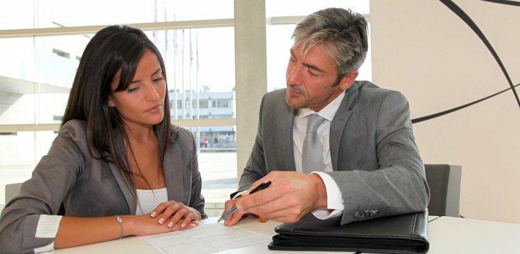 person negotiating