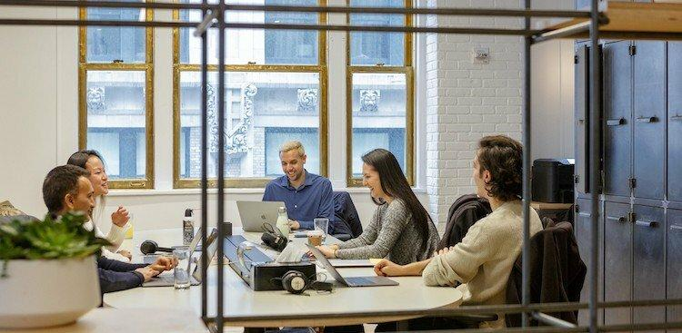 employees in Riskified's NYC offices