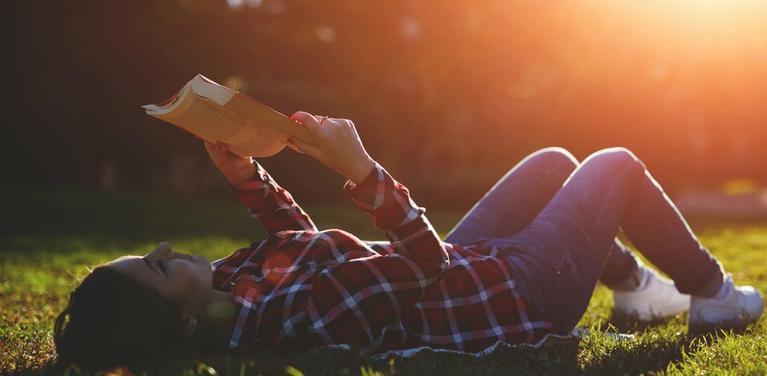 person reading