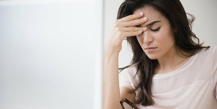 person looking depressed