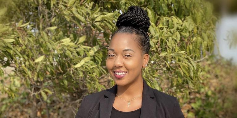 Sherronda Hurd, a contract administrator at Northrop Grumman