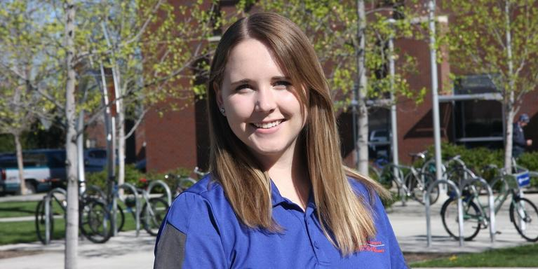Emilie Murphy, a responsible engineer lead at Northrop Grumman