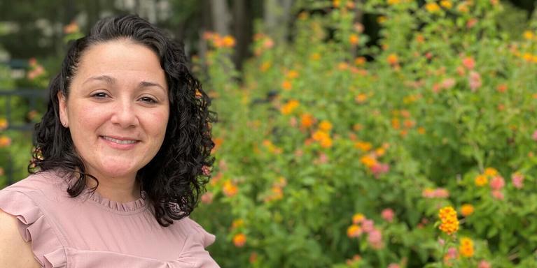 Stephanie Santiago, a customer support supervisor at Biogen