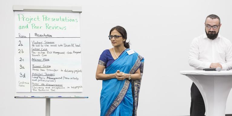 Adhishri Shangari, a project manager at Siemens
