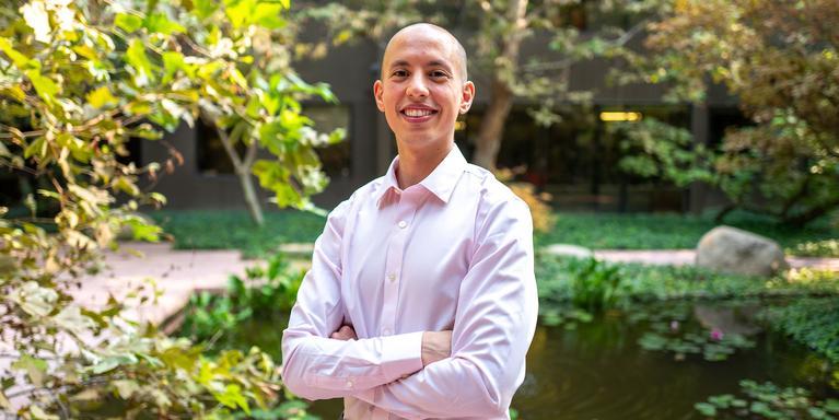 Yassine Elouri, a senior product engineer at Esri