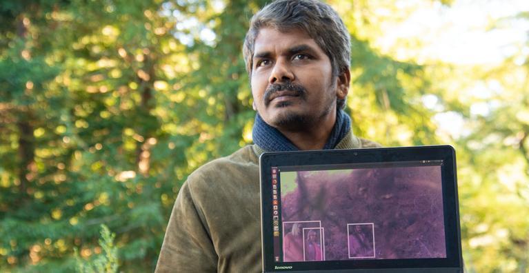 Intel engineer Radha Mathachetty