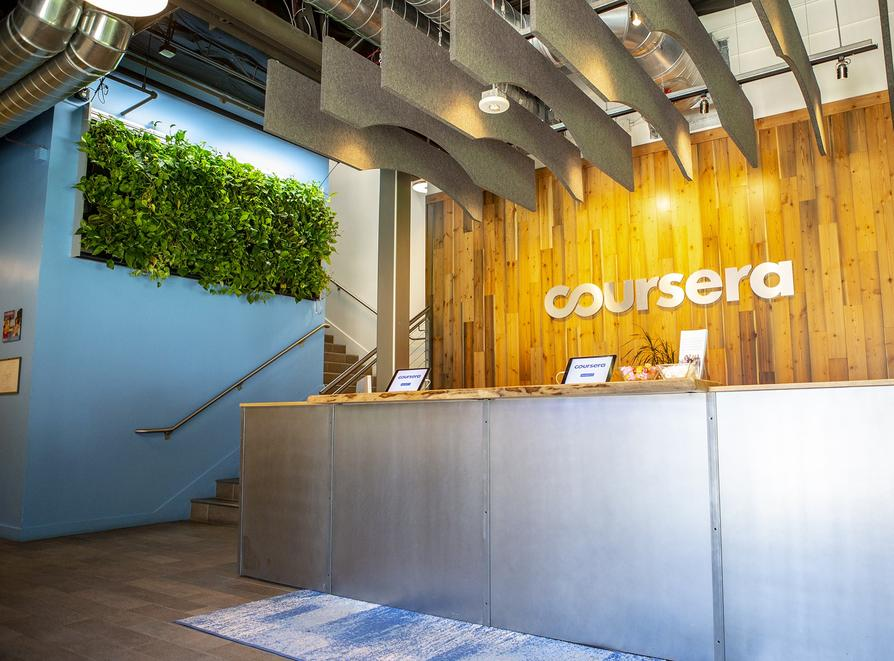 Coursera company profile