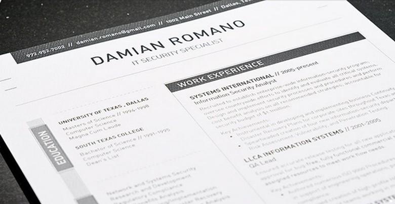 Loft Resume Template