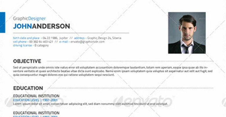 Personal Resume Template | The Muse