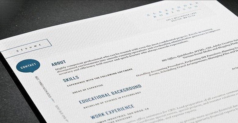 Modern Resume Templates The Muse