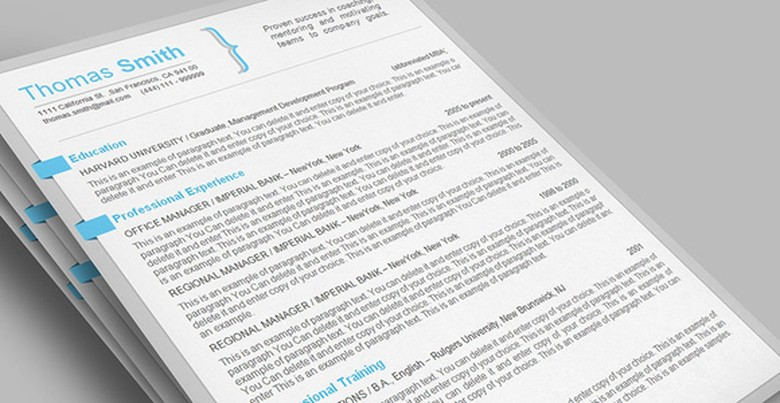 Resumeway Resume Template