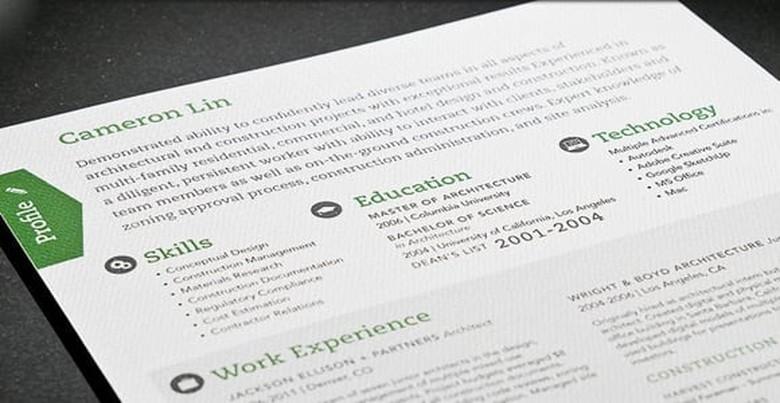 Loft Resume Template 3