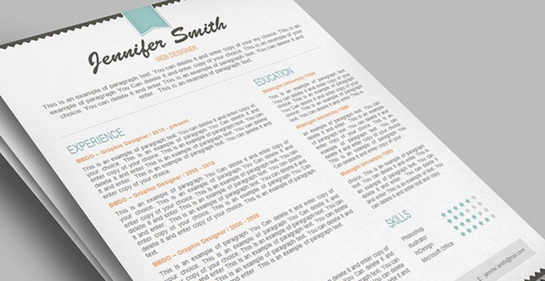 Resumeway Resume Template 5