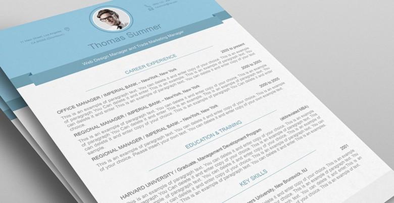 Resumeway Resume Template 6