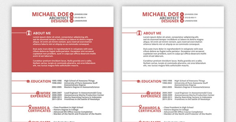 Top resume templates including word templates the muse creative market red resume template 9 altavistaventures Choice Image