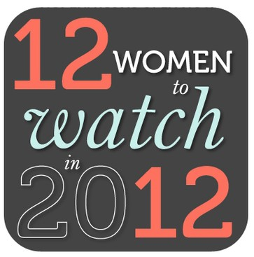 Career Guidance - The Winners! 12 Women to Watch in 2012