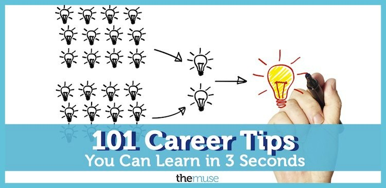 Career Guidance - 101 Career Tips You Can Learn in 3 Seconds